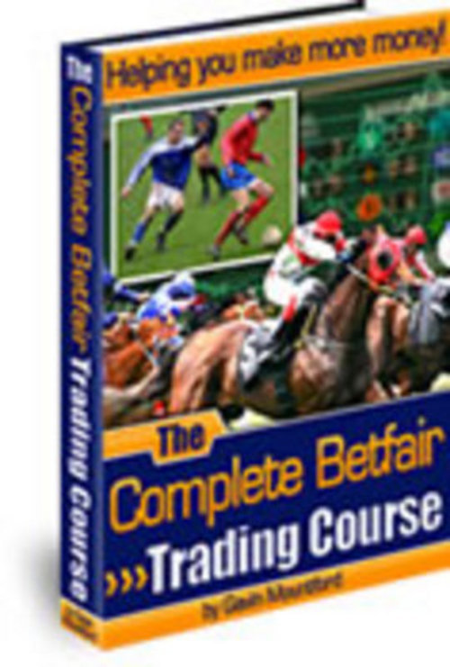 Pay for The Complete Betfair Trading Course Bonus.