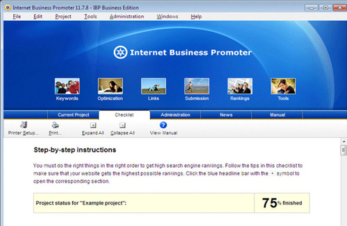 Pay for Internet Business Promoter (IBP)