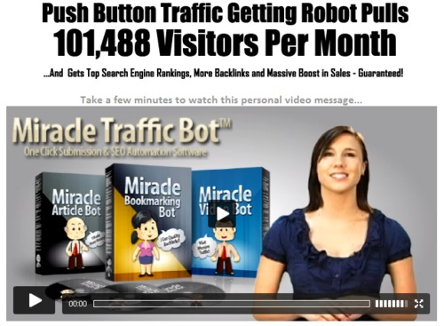 Pay for Miracle Traffic Bot - Free Traffic Generation Software Suite