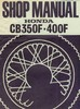 Thumbnail Honda CB350F CB400F Shop Manual CB 350 400 F
