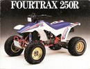 Thumbnail Honda TRX250R Fourtrax Service Manual 1986 - 1989