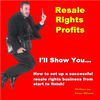 Thumbnail Resell Rights Profits