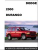 Thumbnail Dodge Durango 2000 Factory Service Repair Manual