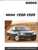 Thumbnail Dodge Neon 1998 - 1999 Factory Service Repair Manual