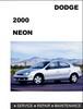 Thumbnail Dodge Neon 2000 Factory Service Repair Manual