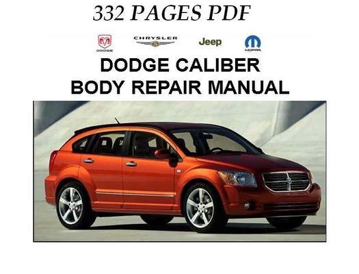 Pay for 2007 Dodge Caliber Body Repair Manual