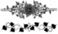 Thumbnail Tattoo Rose mit Blättern