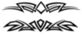 Thumbnail 2 x Tattoo flashes - Tribal Armbands