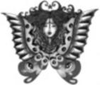Thumbnail Tattoo flash - Human Butterfly