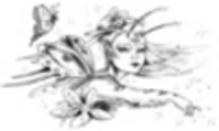 Thumbnail Tattoo flash - Fairy with butterflies