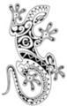 Thumbnail Tattoo flash - Polynesian Style Gecko