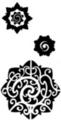 Thumbnail 3 x Tattoo flashes - Borneo stars