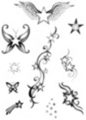 Thumbnail 10 x Tattoo flashes -  Little Stars