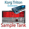 Thumbnail Korg triton Etreme for  sample tank