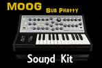 Thumbnail Moog Sub Phatty sound kit .wav-kontakt-Logic-reasons