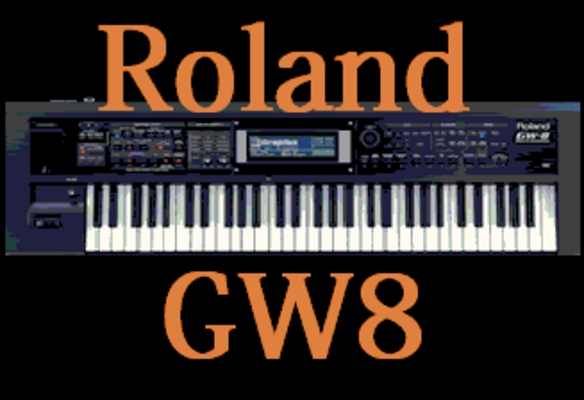 Pay for Roland GW 8 Sound kit  2.184 WAV/Download