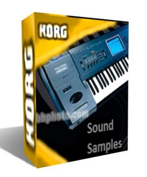 Pay for Korg Triton Extream sound library -wav