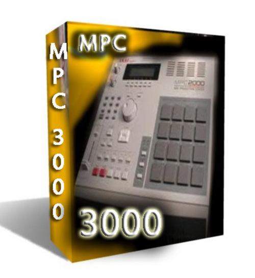 AKIA MPC 3000 SOUND SAMPLE KIT /WAV