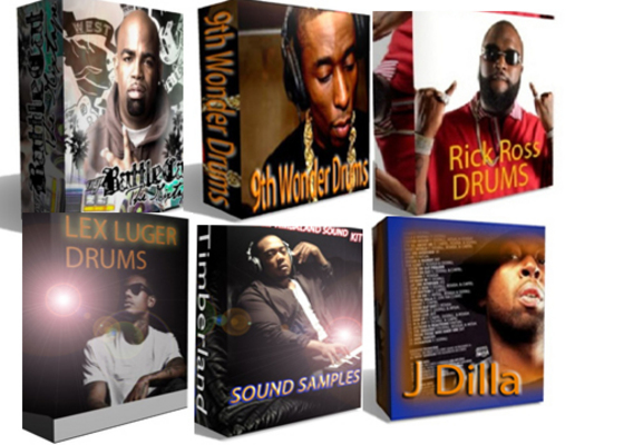 Pay for  Producer Collection  13 sound kits/ wav Download