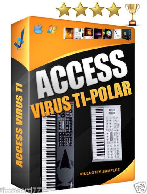 Pay for ACCESS  VIRUS SOUND KIT wav 850 sounds REASON NKI LOGIC