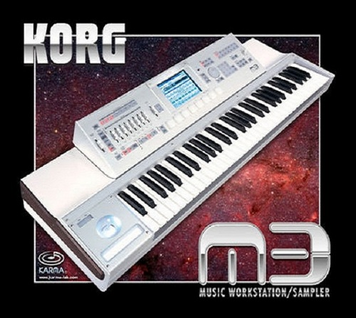 Korg M3 sound samples LOGIC EXS24