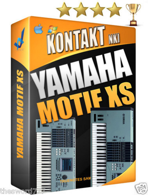 Pay for YAMAHA MOTIF XS8 Sound Library wav/reasons NN-XT LOGIC EXS