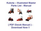 Thumbnail KUBOTA B20 TRACTOR PARTS MANUAL - ILLUSTRATED MASTER PARTS LIST MANUAL - (HIGH QUALITY PDF EBOOK MANUAL) - KUBOTA B20 INSTANT DOWNLOAD !!