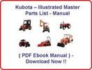 Thumbnail KUBOTA BX23D TRACTOR PARTS MANUAL - ILLUSTRATED MASTER PARTS LIST MANUAL - (HIGH QUALITY PDF EBOOK MANUAL) - KUBOTA BX23 D - INSTANT DOWNLOAD !!