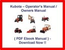 Thumbnail * KUBOTA L4400 TRACTOR OPERATORS MANUAL / OWNERS / MAINTENANCE SERVICE PDF MANUAL - INSTANT DOWNLOAD !!