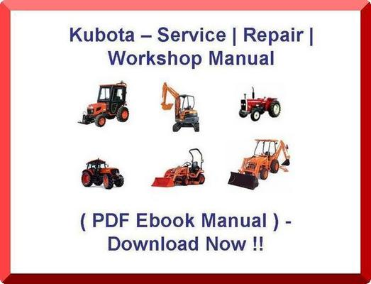Pay for KUBOTA L 210 L210 L-210 TRACTOR SERVICE MANUAL - * DIY REPAIR / PDF SHOP MANUAL - (BEST MANUAL AVAILABLE) - INSTANT DOWNLOAD !!