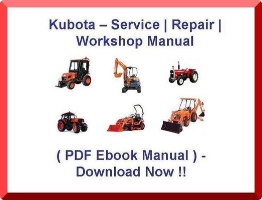 210 L210 L-210 TRACTOR SERVICE MANUAL - * DIY REPAIR / PDF SHOP MANUAL ...