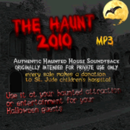 Pay for The Haunt 2010 MP3- Haunted house soundtrack-Halloween music