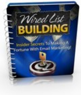 Pay for Wired List Building PLR