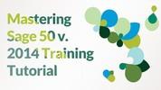 Thumbnail Accounting Program Sage 50 2014 Training Tutorial