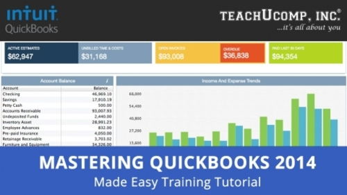 Pay for Intuit QuickBooks Training Tutorial v. 2014-2013