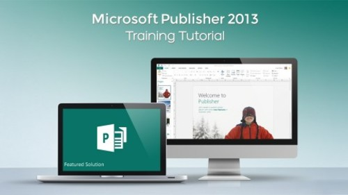 Pay for Microsoft Publisher V. 2013 and 2010 Training Tutorial