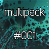 Thumbnail HD 2D and 3D Fractal zoom animation multipack 001