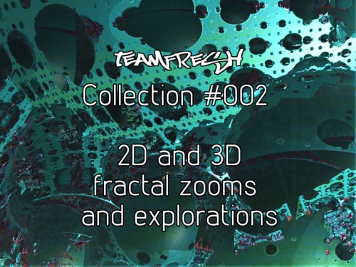 Pay for HD 2D and 3D Fractal zoom animation multipack 002