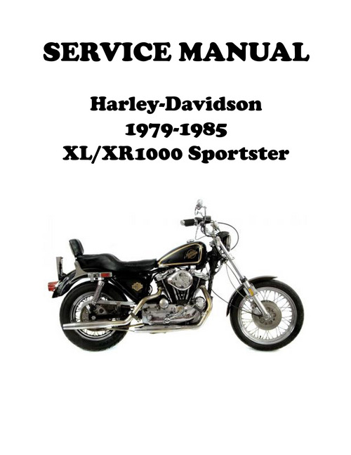 1979 xr 1000 sportster ironhead service manual
