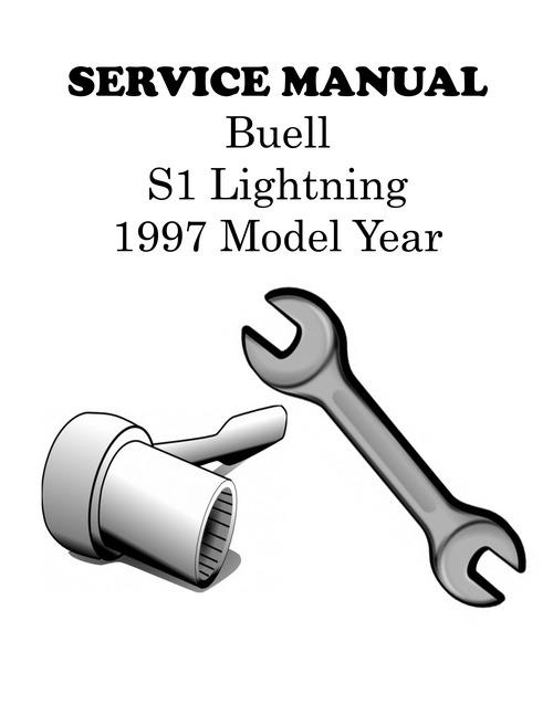 1997 Buell S1 Lightning Service Manual