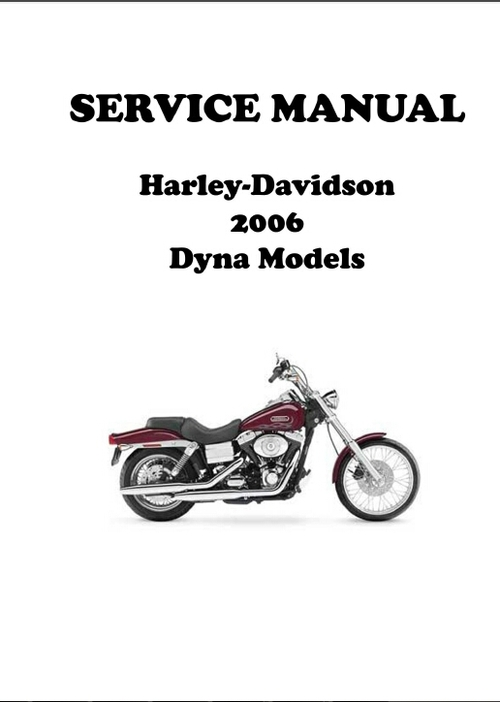 2006 harley dyna download manuals technical. Black Bedroom Furniture Sets. Home Design Ideas