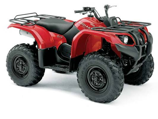 Yamaha Yfm450fas Kodiak Auto 4x4 Owners Manual  2004 Model