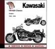 Thumbnail Kawasaki VN1600 Classic 2003 - 2004 Service Repair Manual