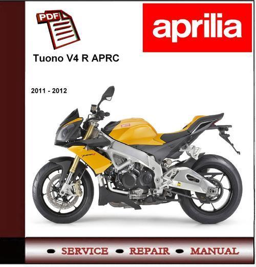 Pay for Aprilia Tuono V4 R a-APRC 2011-2013 Owners Manual