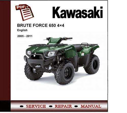 download kvf650 kvf 650 brute force 4x4 2005 2010 service repair workshop manual