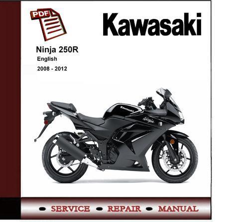 2009 Kawasaki Ninja 250r Wiring Diagram : Kawasaki ninja r ex service repair