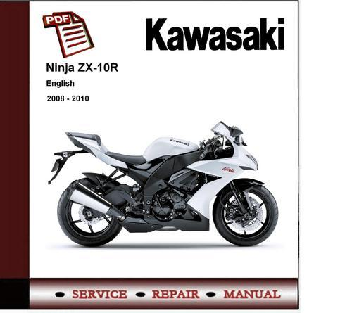 kawasaki ninja zx10r 2008 2010 service repair manual download m rh tradebit com  2009 kawasaki zx10r manual
