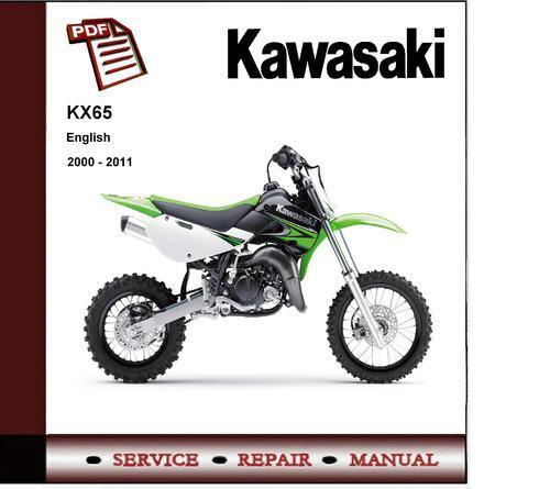 download now kx65 kx 65 2000 2010 service repair workshop manual instant download