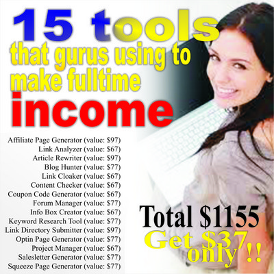 Pay for 15 INTERNET SOFTWARE PACKAGE