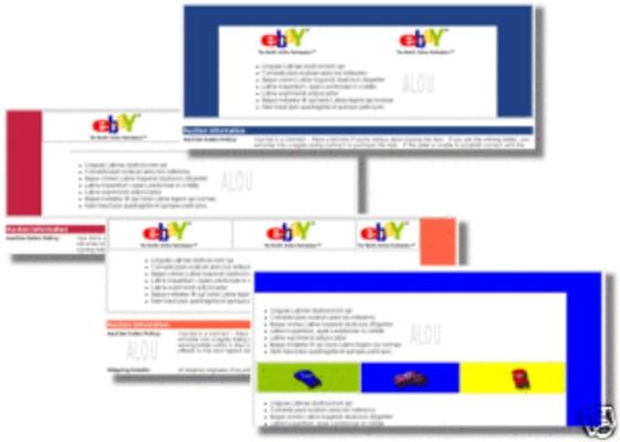 700 ebay auction templates plus bonus download html xhtml